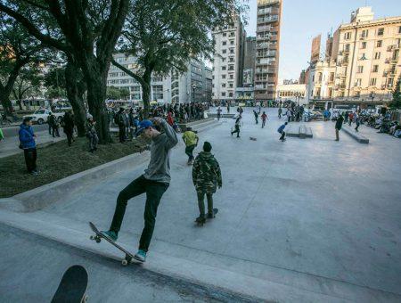 Plaza Bernardo Houssay