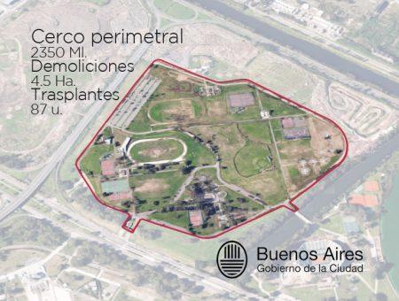 Reja Perimetral-Parque Olímpico