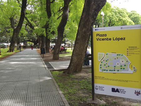Plaza Vicente Lopez y Planes